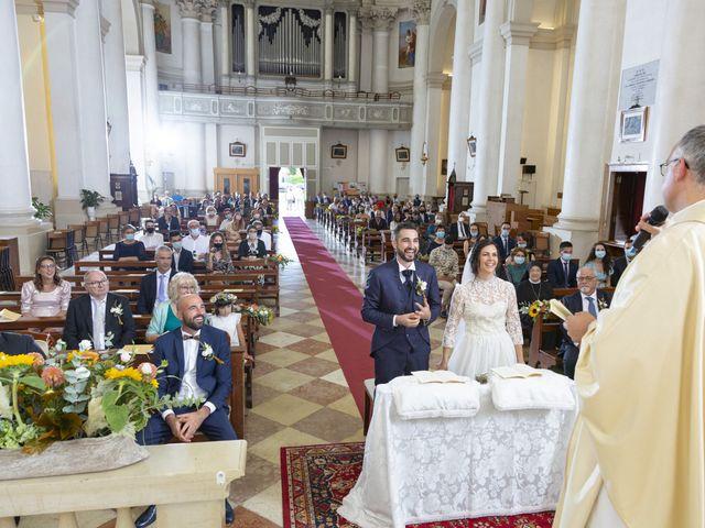 Il matrimonio di Alessandro e Giulia a Loria, Treviso 19