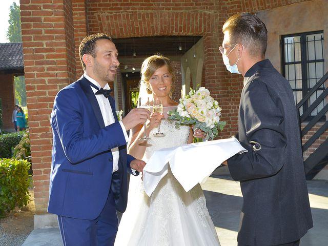Il matrimonio di Nicolas e Lorena a Cerrione, Biella 43