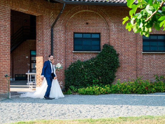 Il matrimonio di Nicolas e Lorena a Cerrione, Biella 61