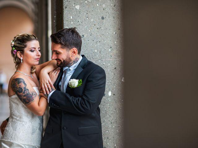 Le nozze di Veronica e Tiziano