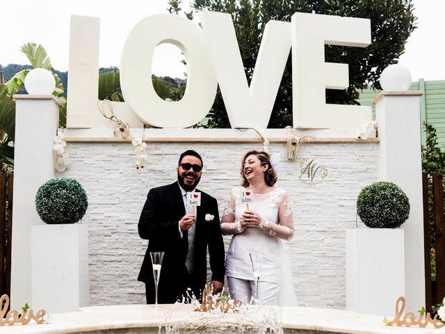 le nozze di Valentina e Benny