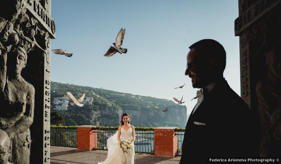 Il matrimonio di Umberto e Roberta a Vico Equense, Napoli