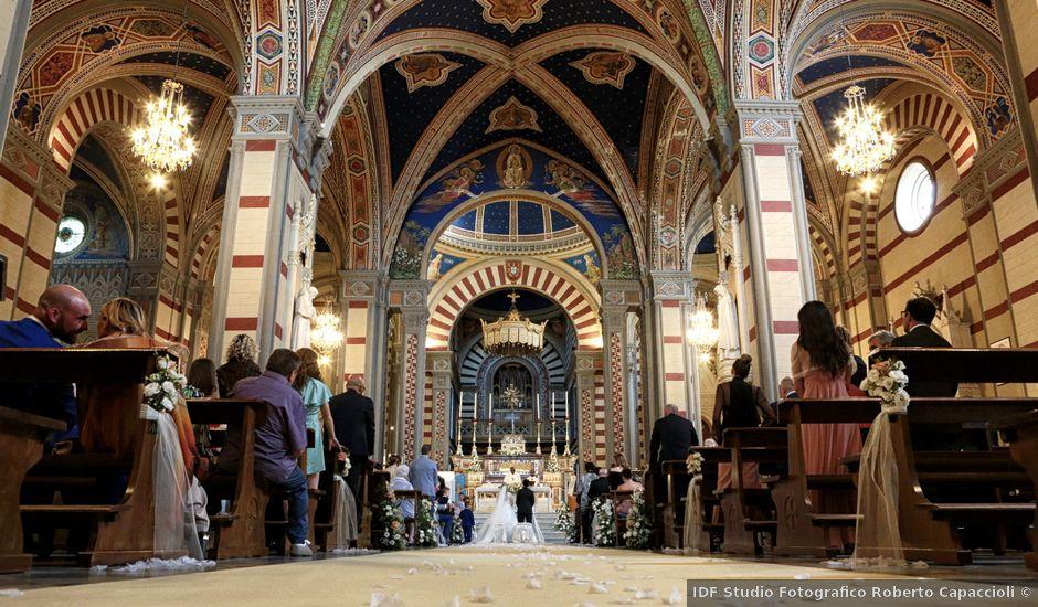 Il matrimonio di Alessandro e Alessia a Cortona, Arezzo