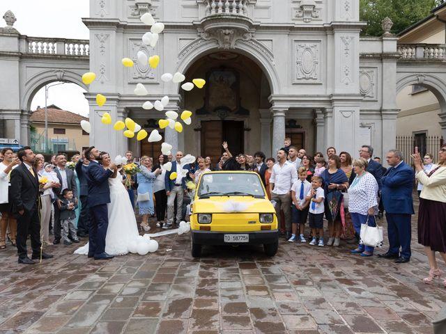 Il matrimonio di Giacomo e Dalila a Induno Olona, Varese 54