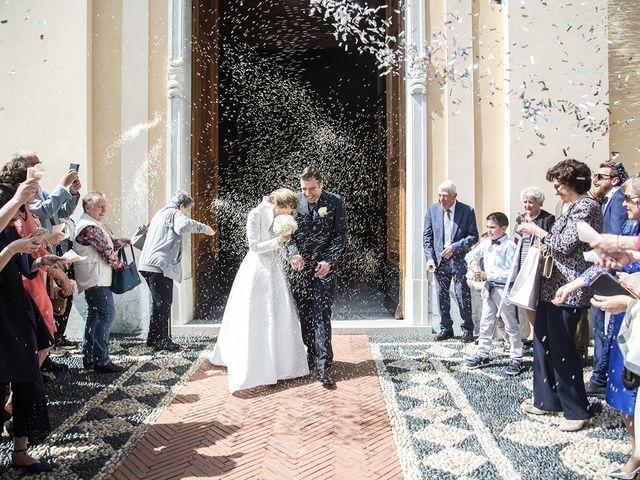 le nozze di Giulia e Antonio
