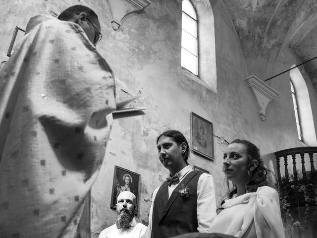 Il matrimonio di Federico e Francesca a Challand-Saint-Victor, Aosta 18
