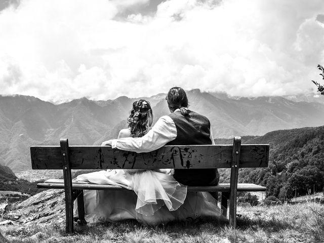 Il matrimonio di Federico e Francesca a Challand-Saint-Victor, Aosta 25