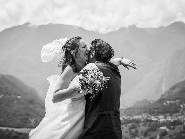 Il matrimonio di Federico e Francesca a Challand-Saint-Victor, Aosta 26