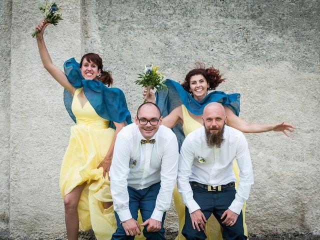 Il matrimonio di Federico e Francesca a Challand-Saint-Victor, Aosta 27