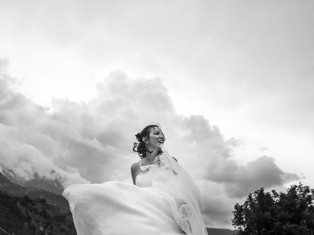 Il matrimonio di Federico e Francesca a Challand-Saint-Victor, Aosta 32