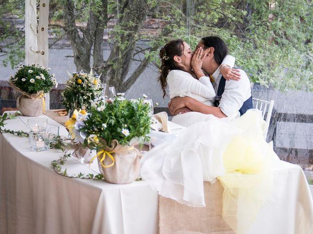 Il matrimonio di Federico e Francesca a Challand-Saint-Victor, Aosta 37
