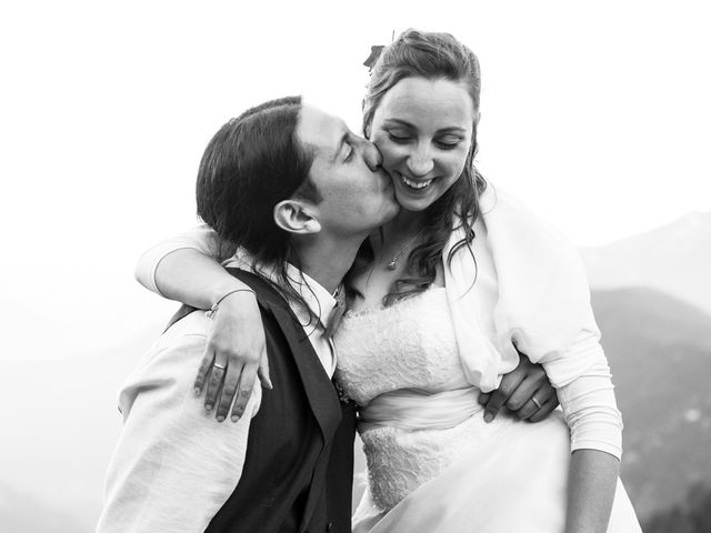 Il matrimonio di Federico e Francesca a Challand-Saint-Victor, Aosta 40