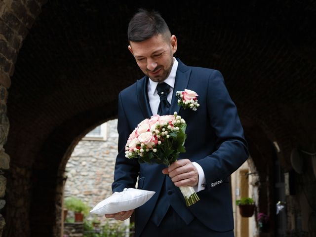 Il matrimonio di Massimiliano e Valeria a Villanova d'Albenga, Savona 9