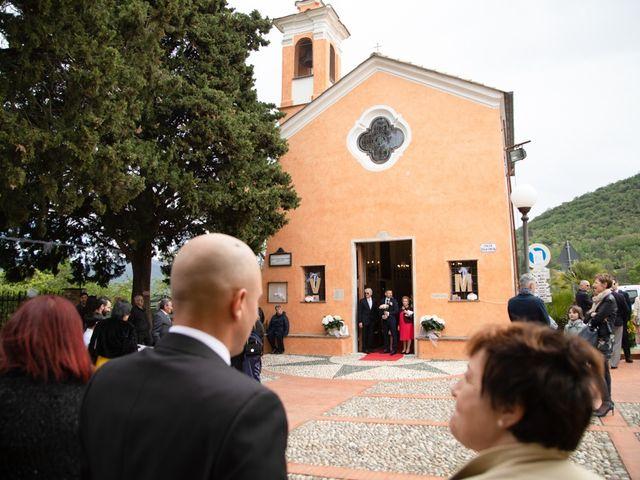 Il matrimonio di Massimiliano e Valeria a Villanova d'Albenga, Savona 13
