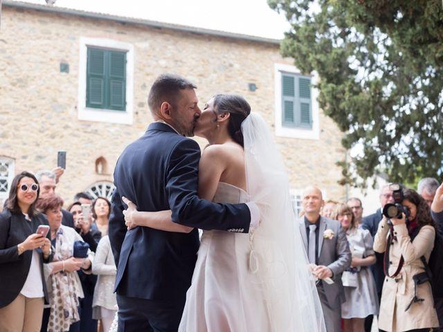 Il matrimonio di Massimiliano e Valeria a Villanova d'Albenga, Savona 37