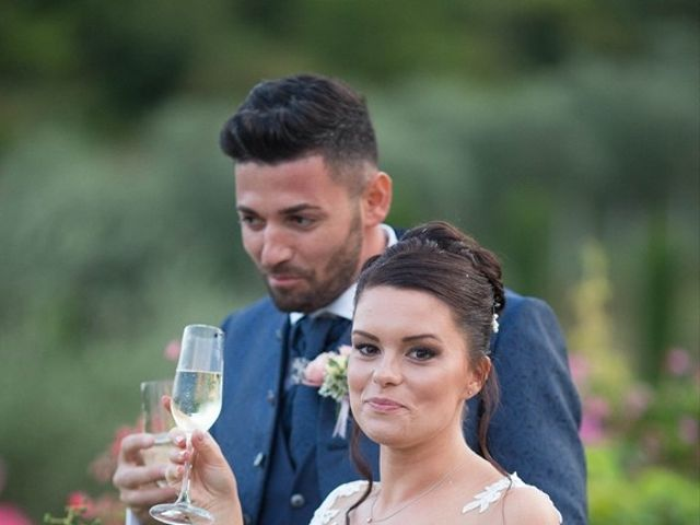 Il matrimonio di Nicola e Annarita a Fiano Romano, Roma 78
