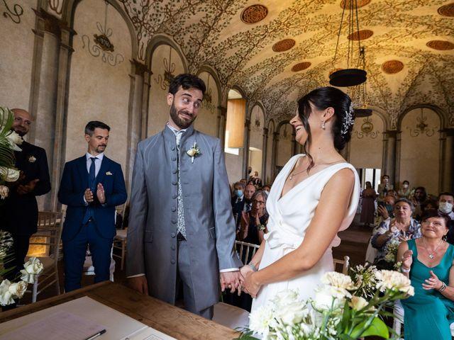 Il matrimonio di Luca e Laura a Calco, Lecco 21