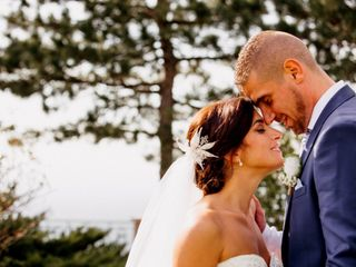 Le nozze di Cristina e Laurent