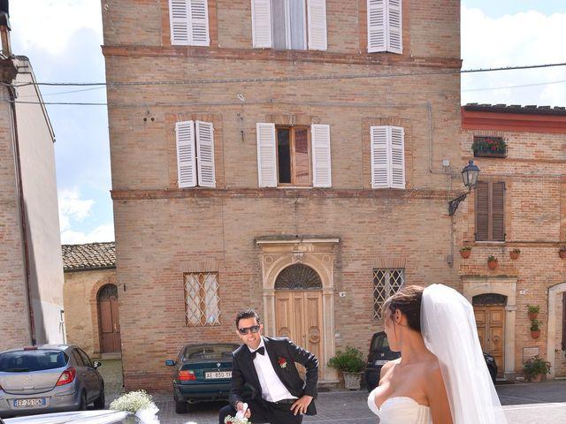Il matrimonio di Eva e Matteo a Montefiore dell'Aso, Ascoli Piceno 14