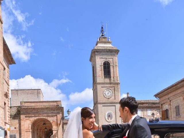 Il matrimonio di Eva e Matteo a Montefiore dell'Aso, Ascoli Piceno 15