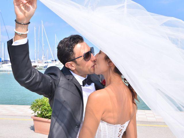 Il matrimonio di Eva e Matteo a Montefiore dell'Aso, Ascoli Piceno 16