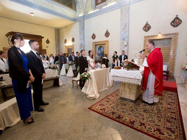 Il matrimonio di Davide e Cristina a Bracciano, Roma 11