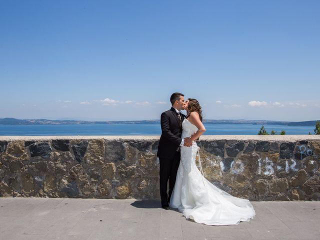 Il matrimonio di Davide e Cristina a Bracciano, Roma 17