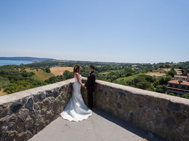Il matrimonio di Davide e Cristina a Bracciano, Roma 18