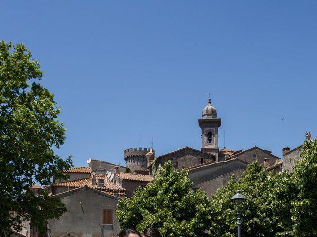 Il matrimonio di Davide e Cristina a Bracciano, Roma 19