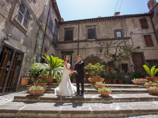 Il matrimonio di Davide e Cristina a Bracciano, Roma 21