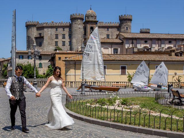 Il matrimonio di Davide e Cristina a Bracciano, Roma 22