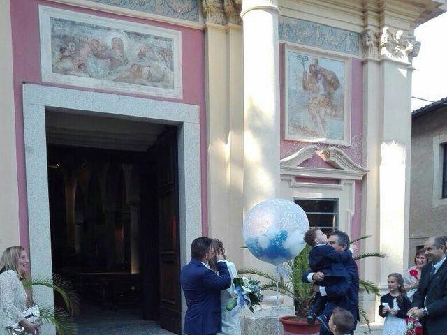 Il matrimonio di Simone e Monica a Barengo, Novara 23