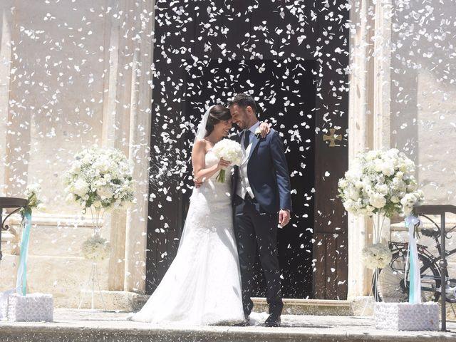 le nozze di Andreina e Stefano