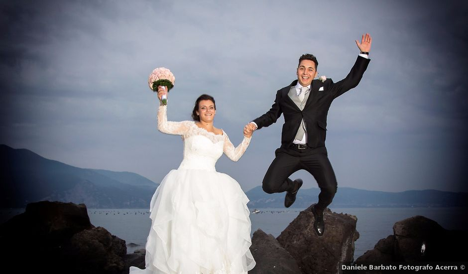 Il matrimonio di Angelo e Mariateresa a Acerra, Napoli
