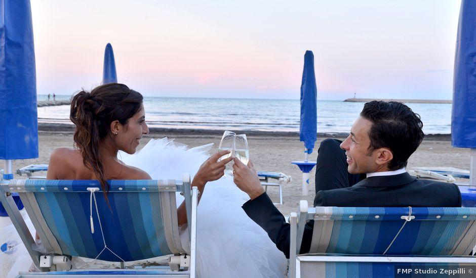 Il matrimonio di Eva e Matteo a Montefiore dell'Aso, Ascoli Piceno