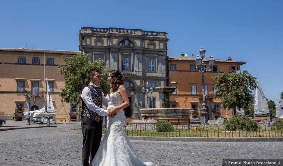 Il matrimonio di Davide e Cristina a Bracciano, Roma