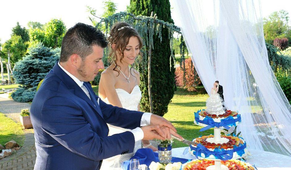 Il matrimonio di Simone e Monica a Barengo, Novara