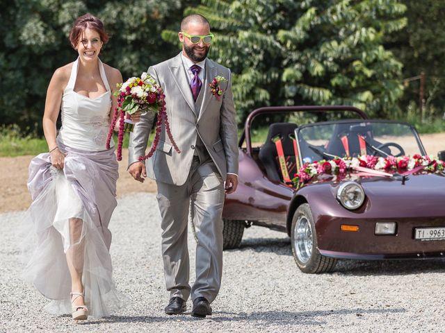 Il matrimonio di Matteo e Derborah a Como, Como 38