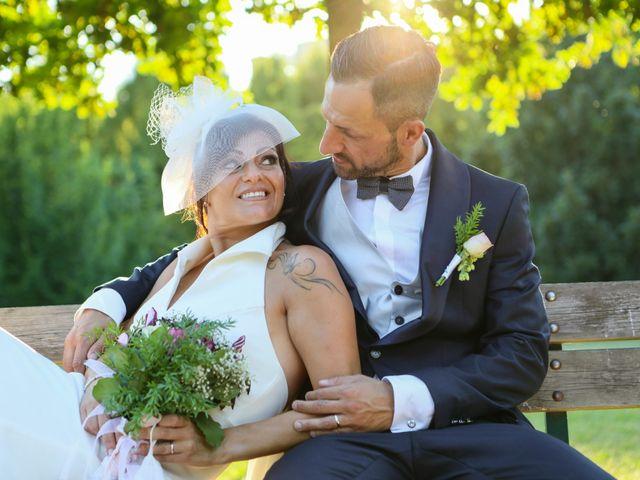 Le nozze di Fabrizio e Daniela