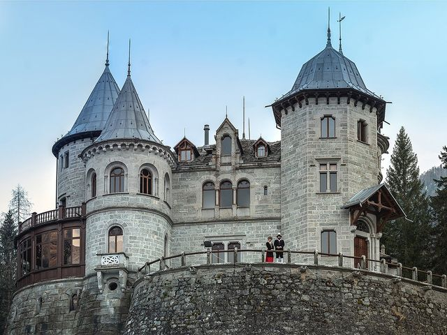Il matrimonio di Saverio e Selene a Gressoney-Saint-Jean, Aosta 1