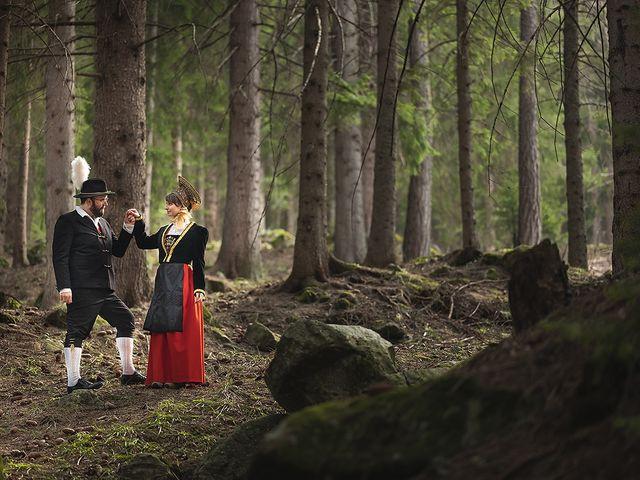 Il matrimonio di Saverio e Selene a Gressoney-Saint-Jean, Aosta 2