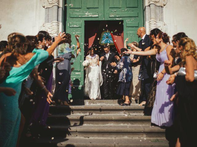 Il matrimonio di Raffaele e Giovanna a Pollena Trocchia, Napoli 43