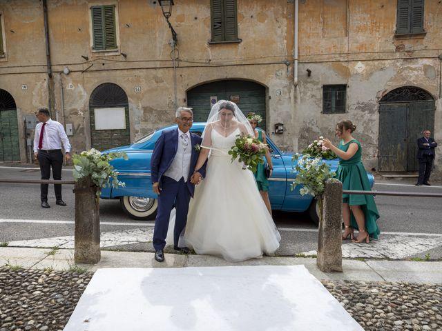 Il matrimonio di Mauro e Michela a San Colombano al Lambro, Milano 35