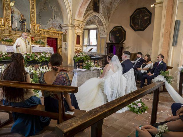 Il matrimonio di Mauro e Michela a San Colombano al Lambro, Milano 43