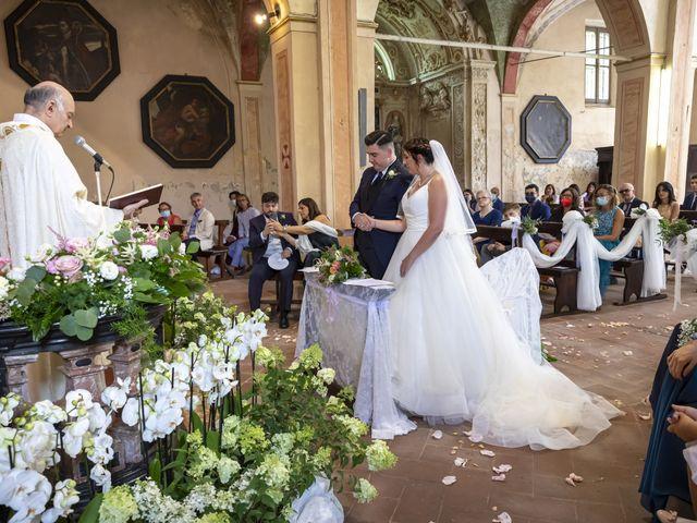 Il matrimonio di Mauro e Michela a San Colombano al Lambro, Milano 46