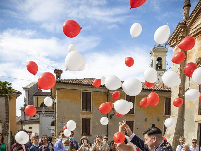 Il matrimonio di Mauro e Michela a San Colombano al Lambro, Milano 61