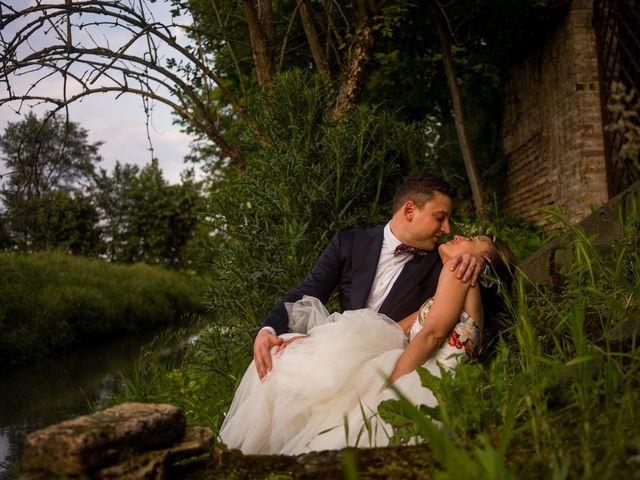 le nozze di Luisa e Mirko