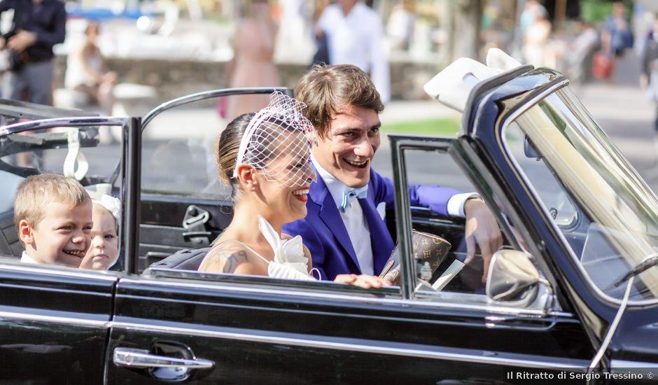 Il matrimonio di Fausto e Giovanna a Torri del Benaco, Verona