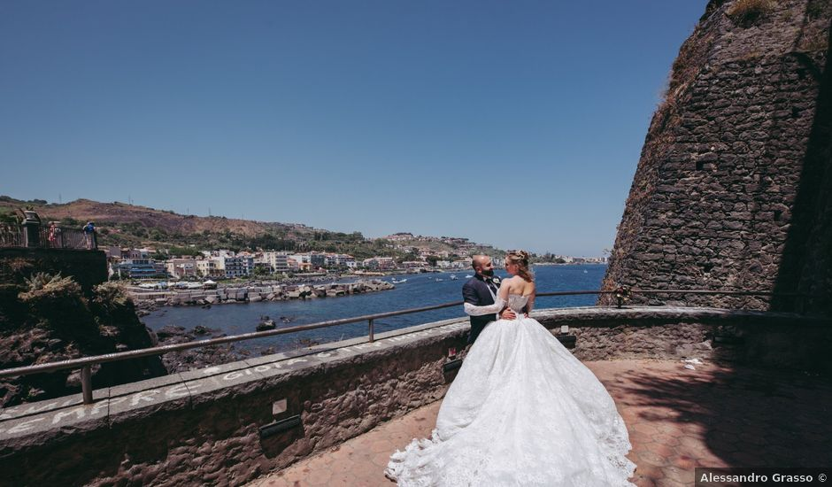 Il matrimonio di Ottavia e Giuseppe a Trecastagni, Catania