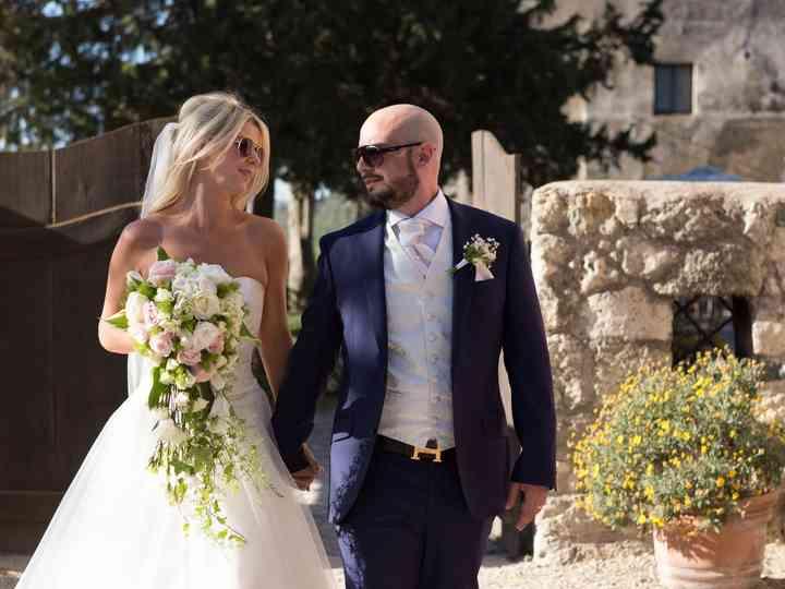 le nozze di Joanna e Danilo